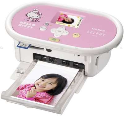 Принтер Canon SELPHY CP770 в стиле Hello Kitty